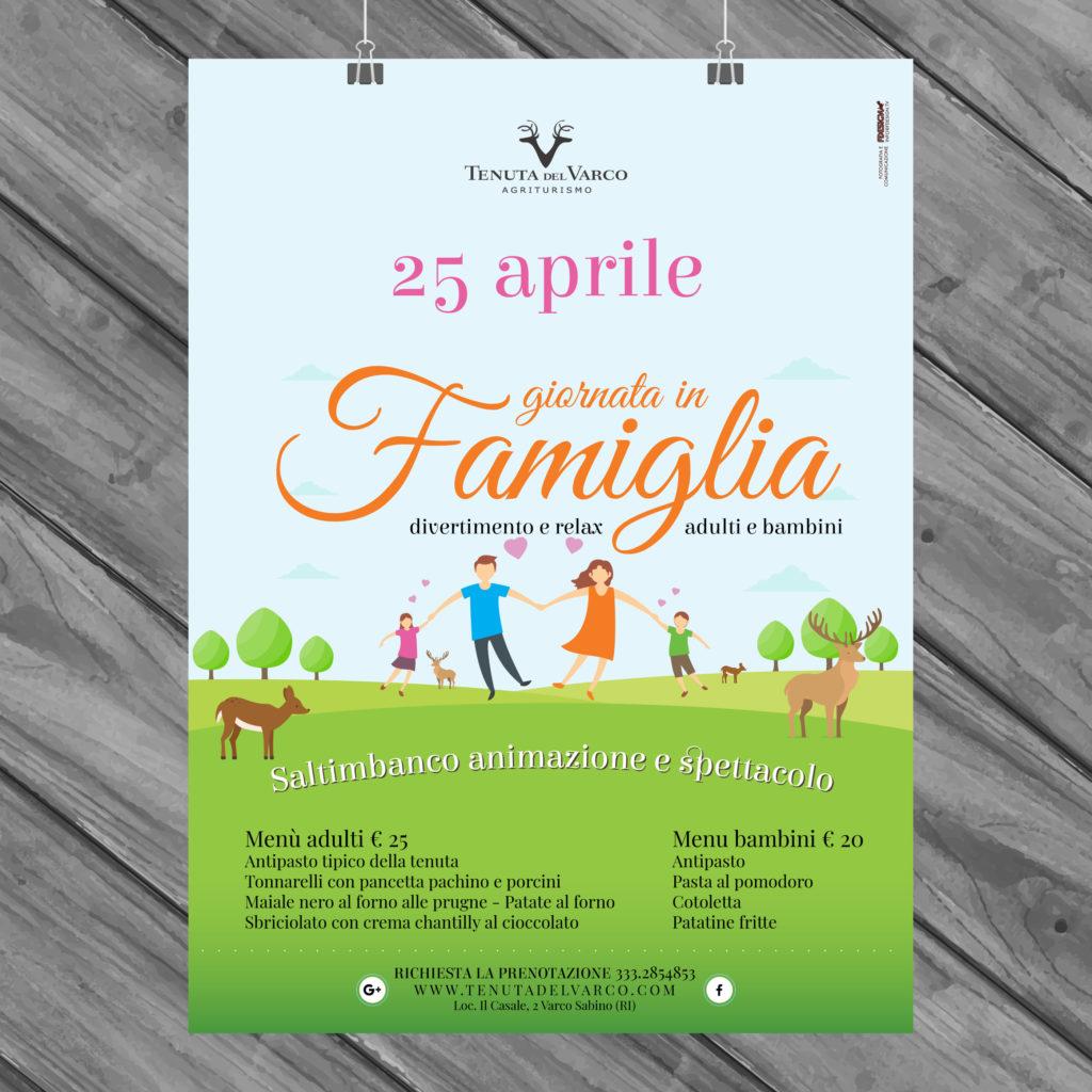 25 aprile giornata in famiglia